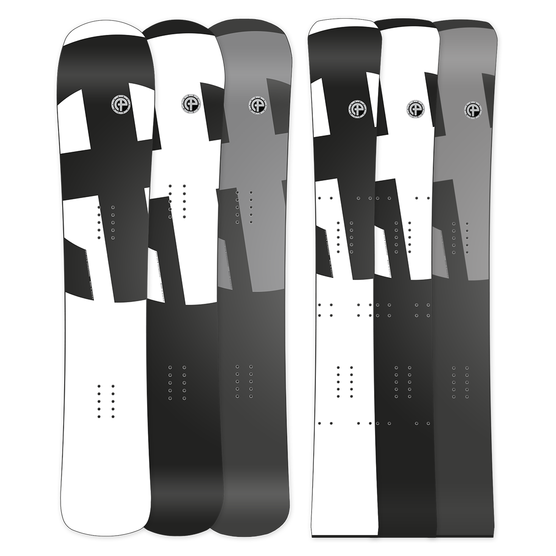 New Testboards Apex CSTM Snowboards